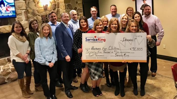 Service King Raises $125,000 for DFW Charities Ahead of Holiday Season
